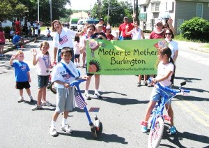 Mother to Mother in the parade!